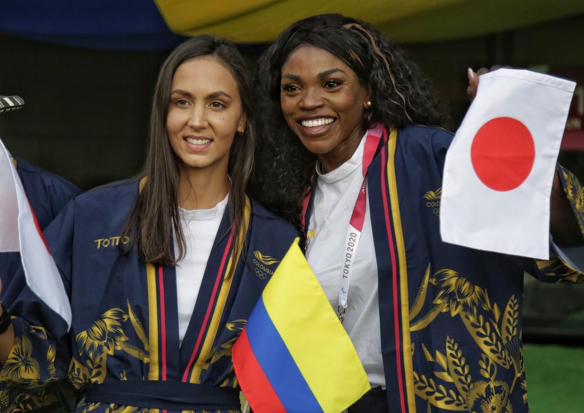 Colombia en inauguracion de Juegos Olimpicos 1
