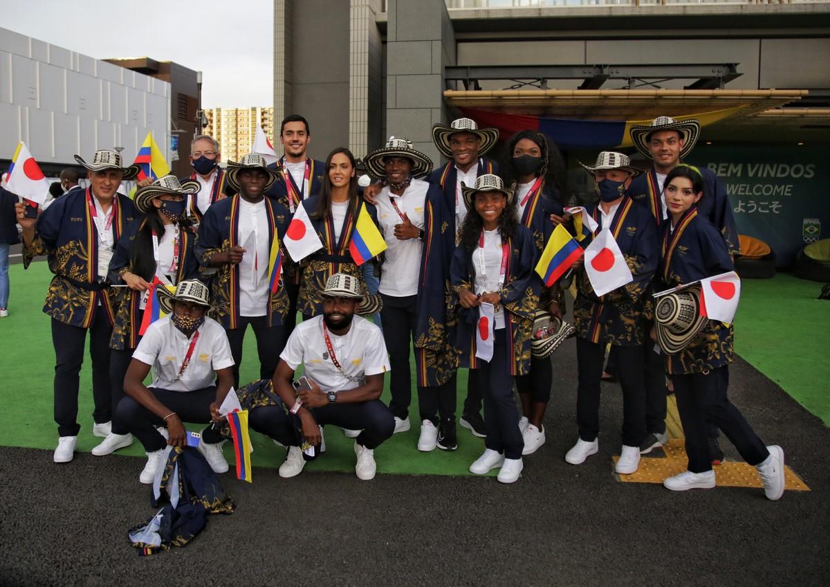 Colombia en inauguracion de Juegos Olimpicos 2