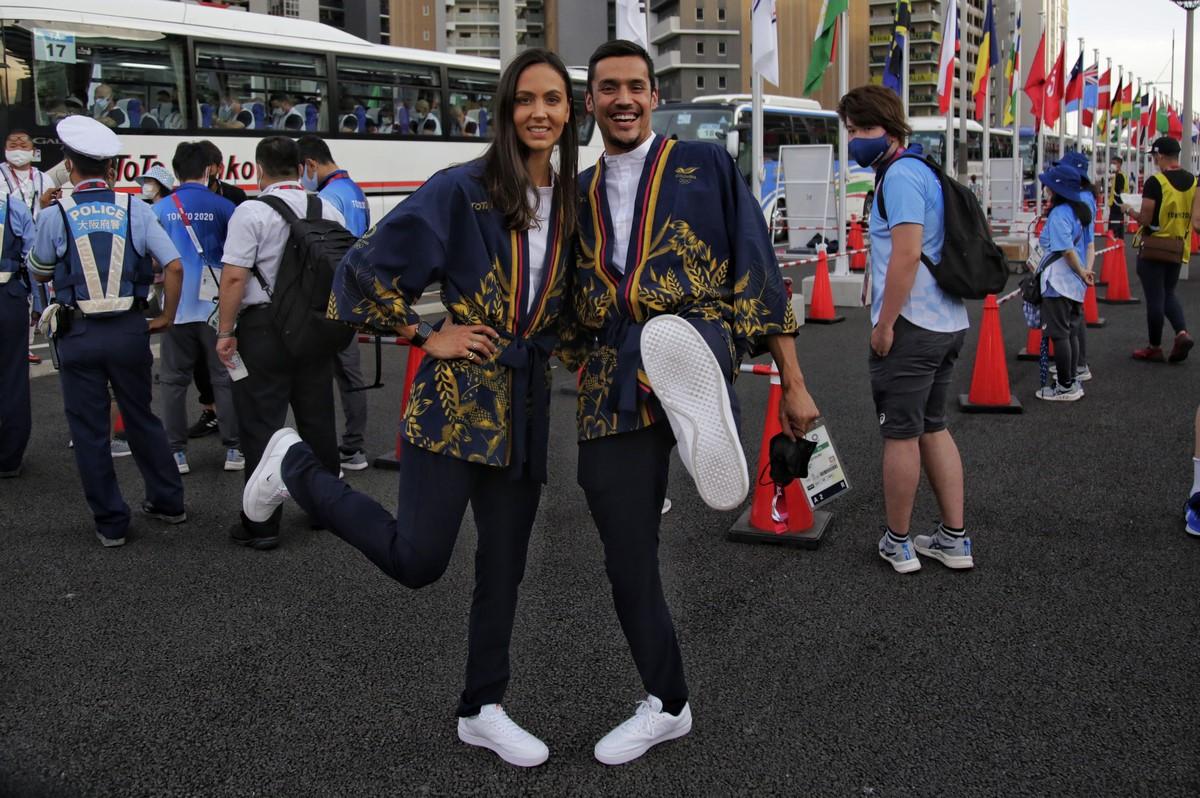 Colombia en inauguracion de Juegos Olimpicos 3
