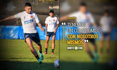 Colombia promete mistica y pasion para enfrentar a Uruguay