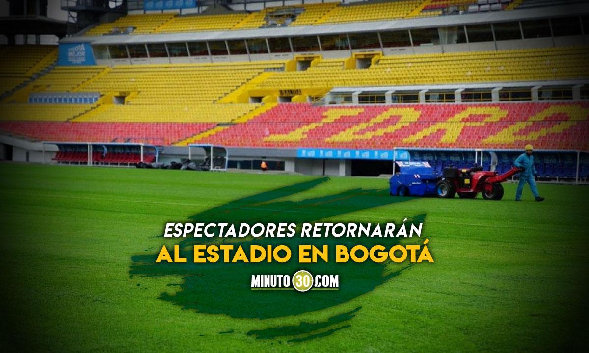 Con partido de Atletico Nacional regresaran los hinchas al Campin