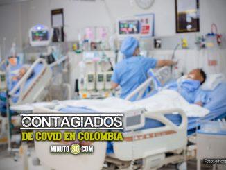 Contagiados de Covid en Colombia 1