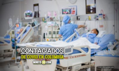 Contagiados de Covid en Colombia