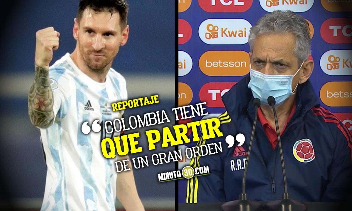 Contrarrestar el talento de Messi una de las tareas mas complejas de Colombia