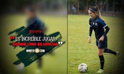Daniela Montoya quiere aportar la cuota de experiencia en Independiente Medellin