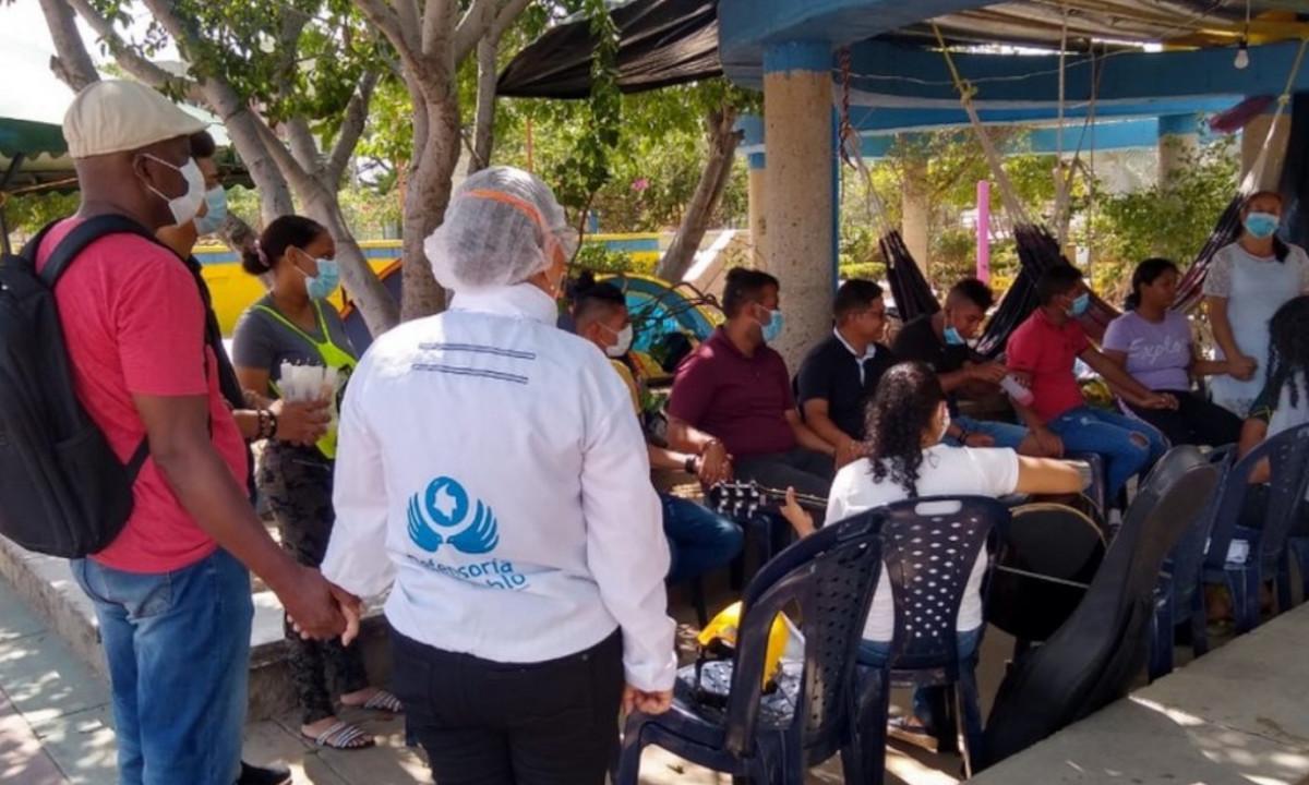 Jóvenes en la Guajira completan casi dos semanas en huelga de hambre