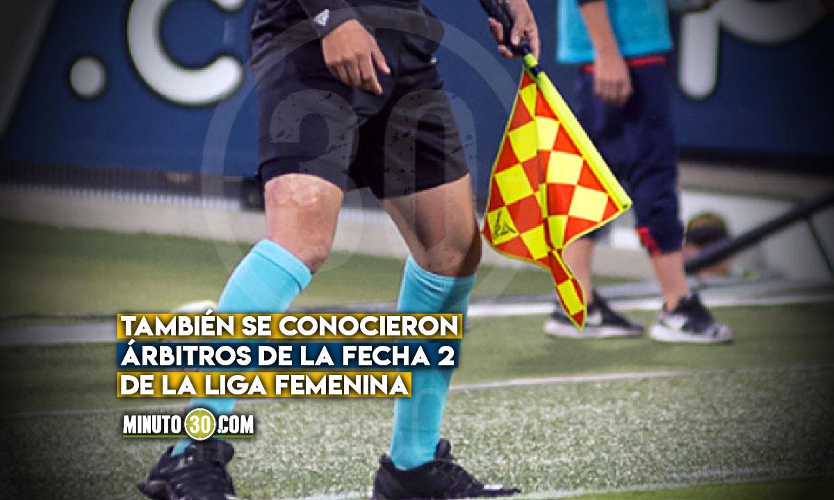 Definidos arbitros para partido Medellin aguilas