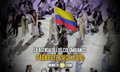 Deportistas colombianos estaran en accion este sabado en Juegos Olimpicos