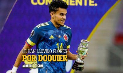 Desempeno de Luis Diaz no paso desapercibido para el GET de la Conmebol