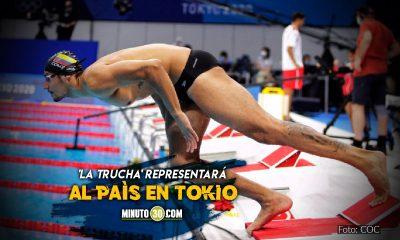 El antioqueno Jorge Mario Murillo primer nadador en competir en Juegos Olimpicos