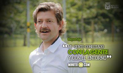 Emilio Gutierrez feliz de vivir de nuevo en Medellin