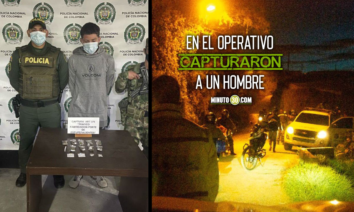En El Carmen de Viboral encontraron caleta con marihuana y cocaína dosificadas, listas para la venta