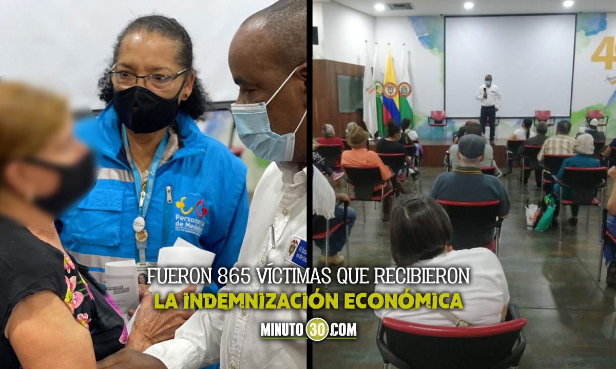 En Medellín entregaron más de $7 mil millones de pesos a las víctimas del conflicto