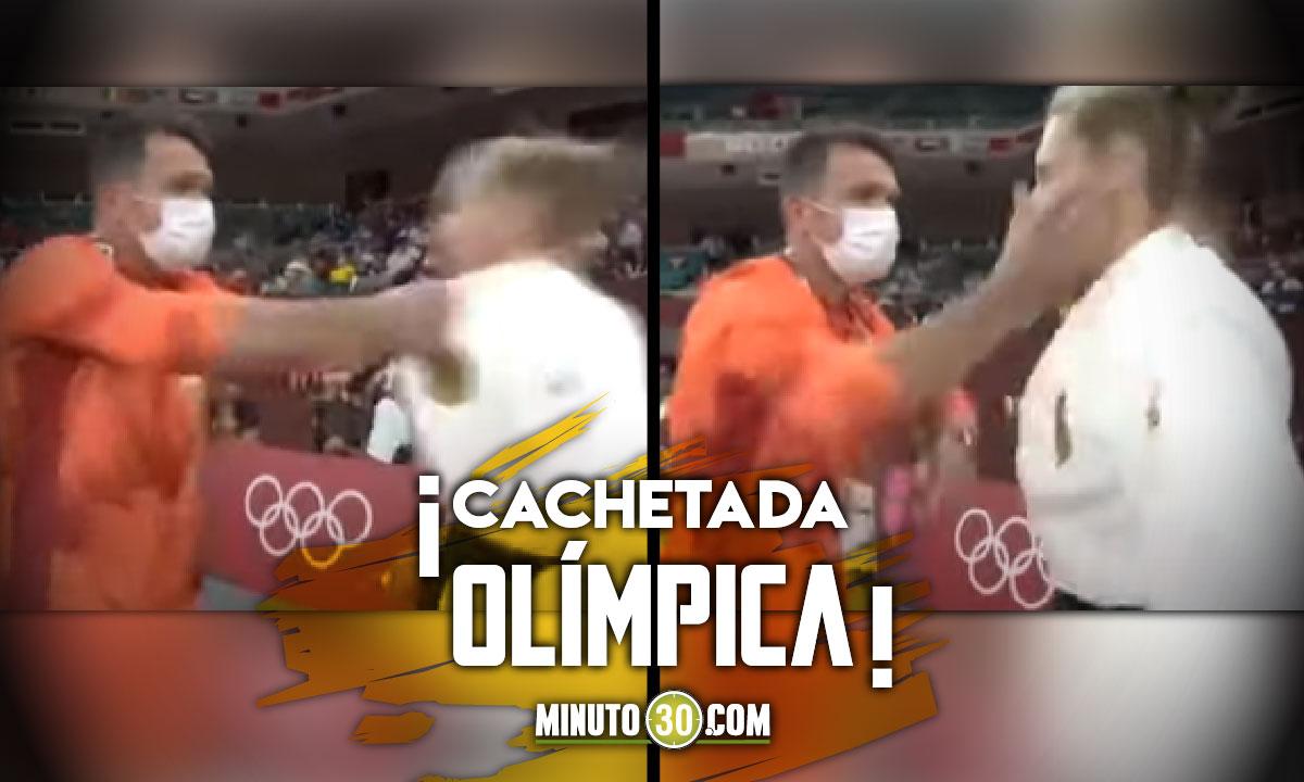 Entrenador cacheteó a una deportista durante su participación en los Juegos Olímpicos