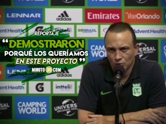 Entrenador de Nacional valoro el debut de Pabon y Aguilar