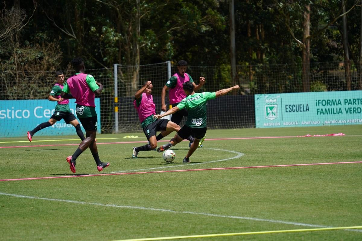 Entrenamiento Atletico Nacional 1 3
