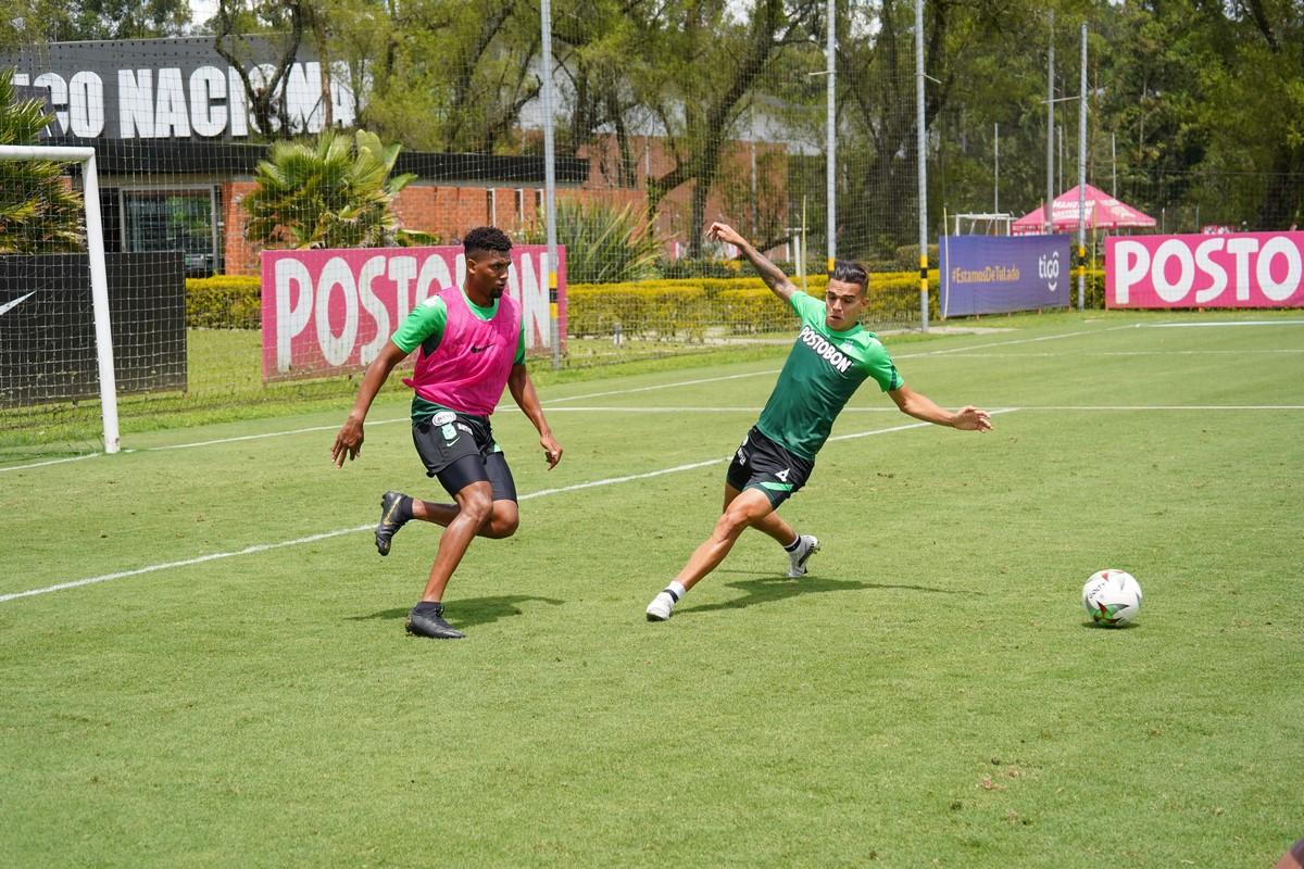Entrenamiento Atletico Nacional 8