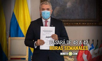 Es oficial Duque firmo la ley que reduce la jornada laboral en Colombia