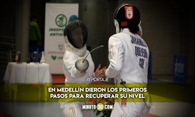 Esgrimistas colombianos se preparan para importantes competencias 1