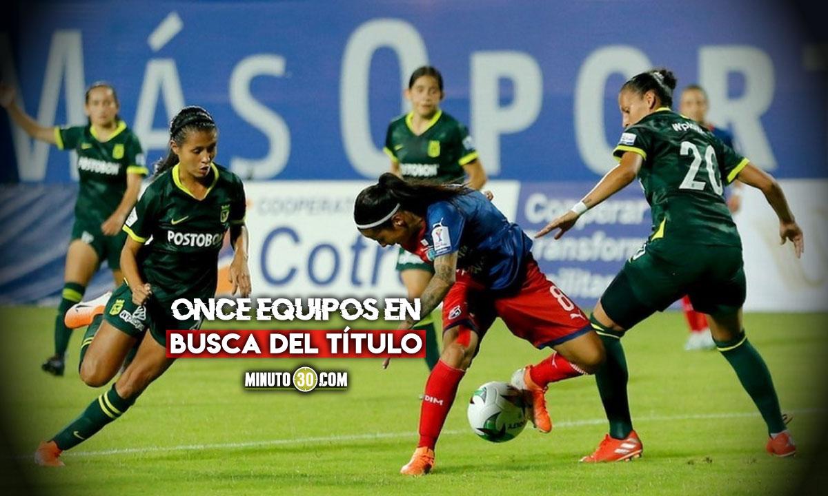 Este sabado se abrira la Liga Femenina en Colombia 1
