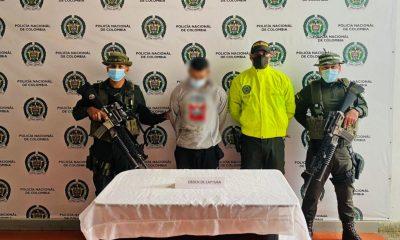 """[Video] Cogieron a """"Faber"""", uno de los más buscados en el Suroeste de Antioquia"""