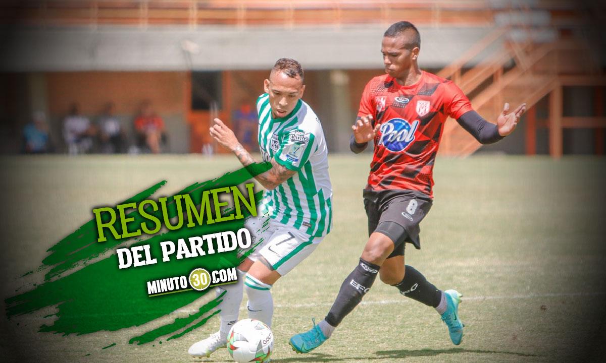 Goles y mejores momentos del amistoso entre Nacional y Envigado
