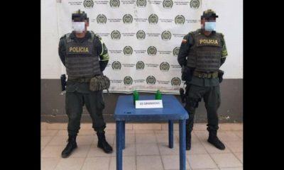 Encontraron dos granadas a la orilla de una carretera en Necoclí, Antioquia