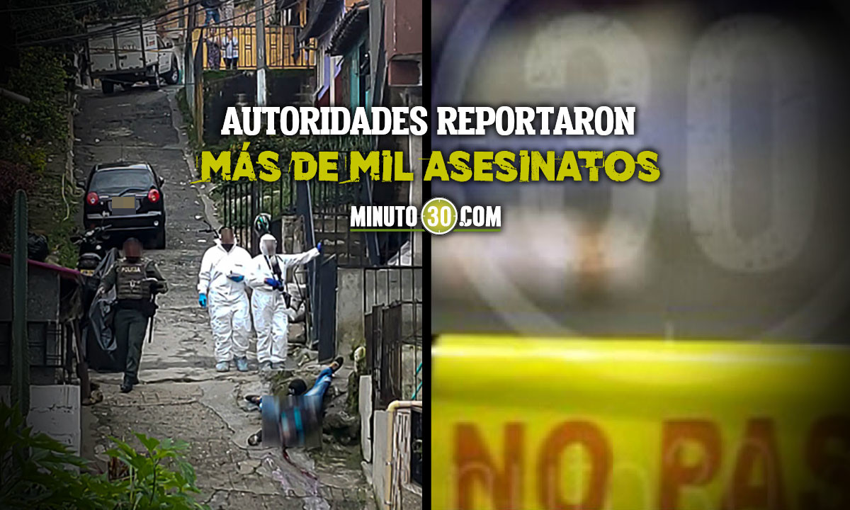 [Video] Subió la cifra de homicidios en Antioquia durante junio