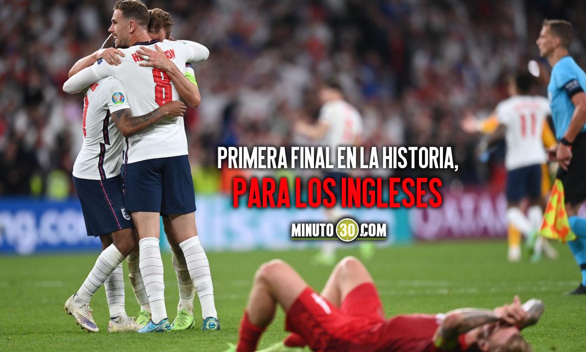 Inglaterra avanzo y disputara con Italia la final de la Eurocopa