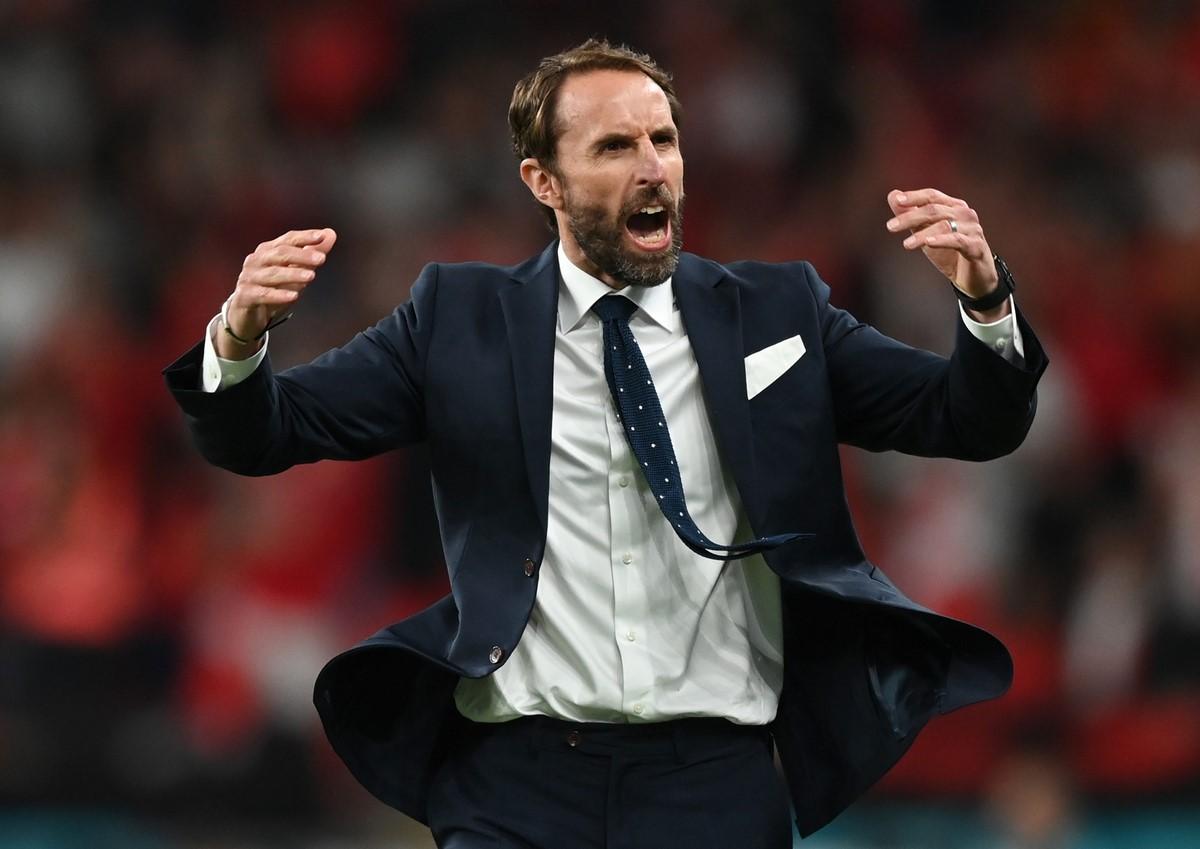 Inglaterra celebro el paso a la final de la Eurocopa 10