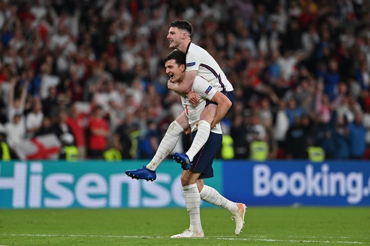 Inglaterra celebro el paso a la final de la Eurocopa 3