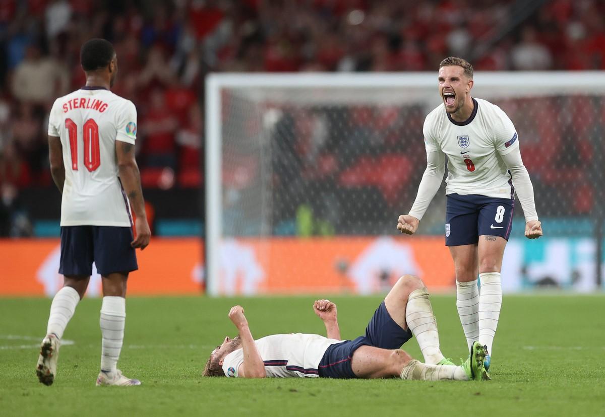 Inglaterra celebro el paso a la final de la Eurocopa 4