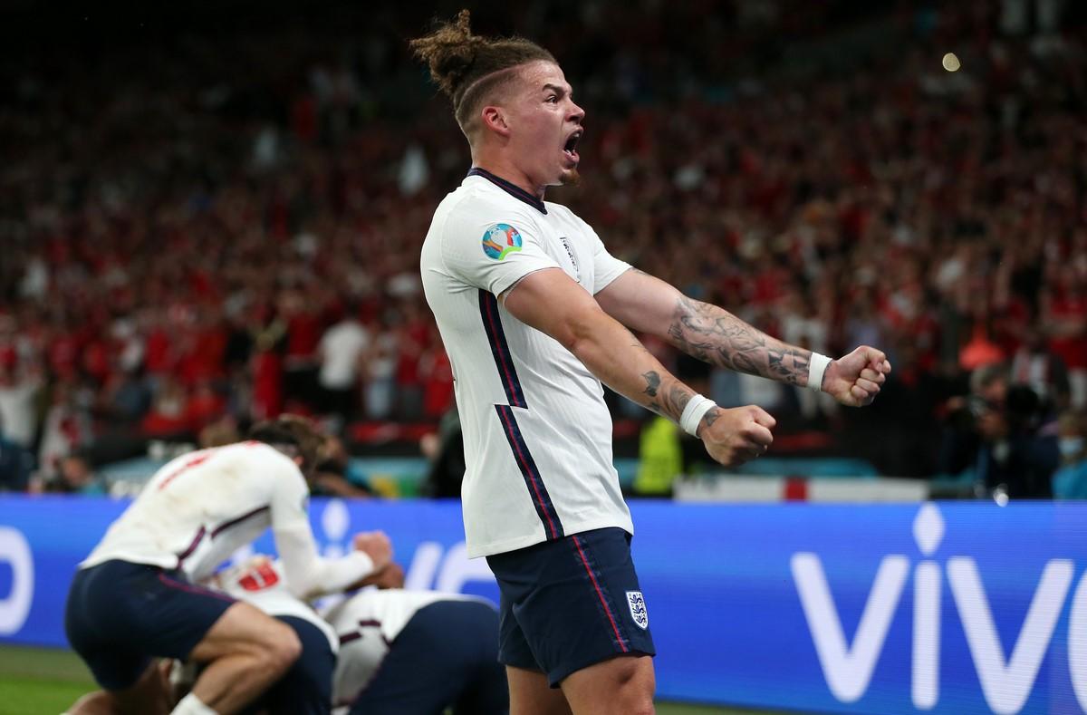 Inglaterra celebro el paso a la final de la Eurocopa 8