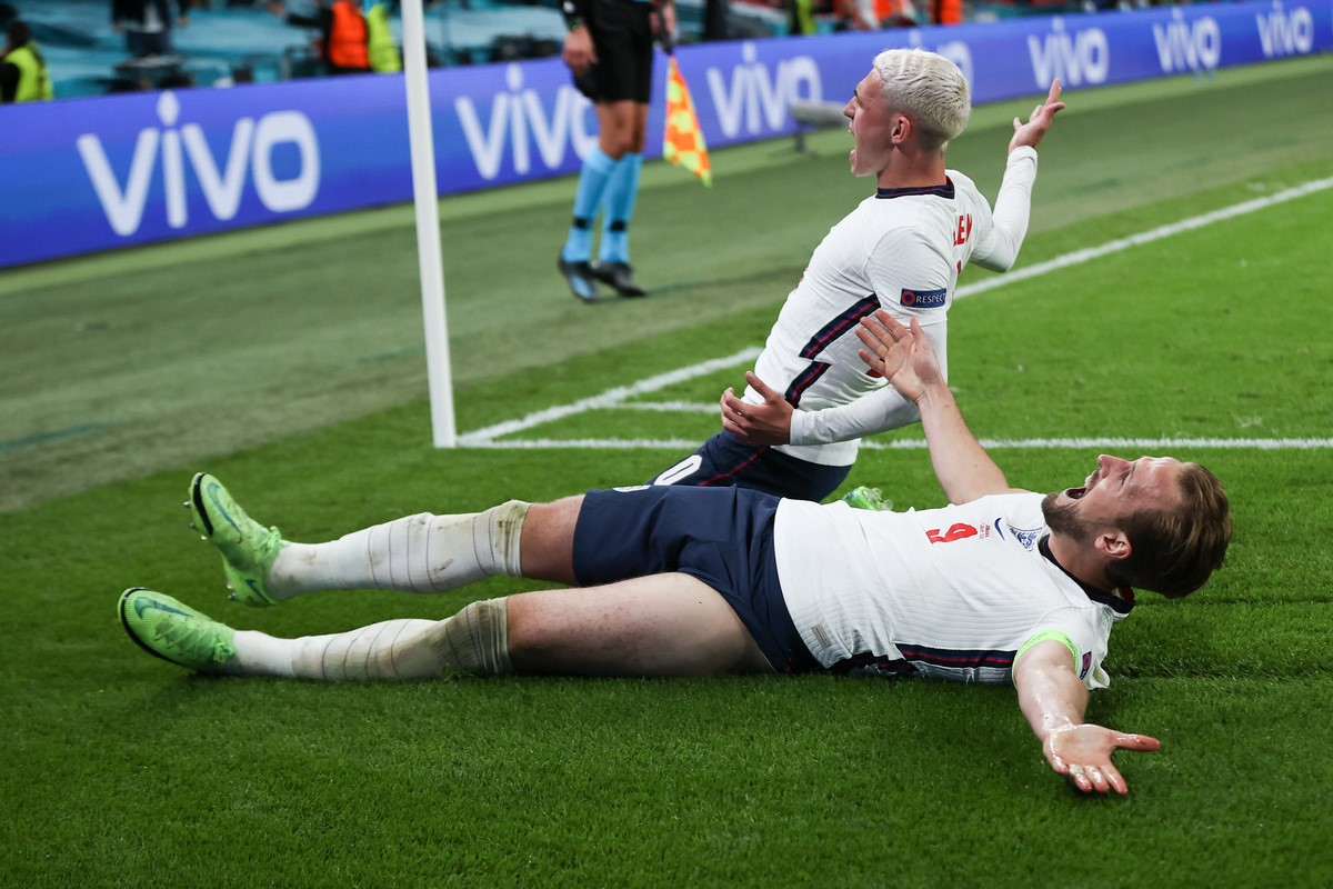 Inglaterra celebro el paso a la final de la Eurocopa 9