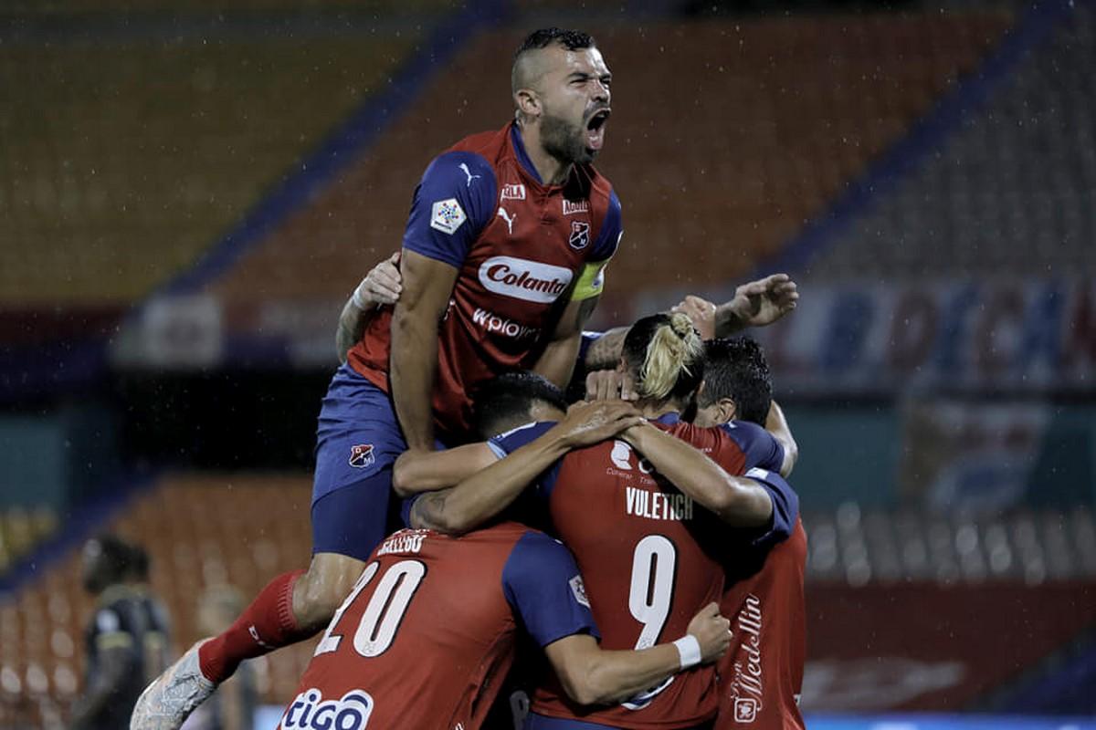 Inpendiente Medellin vs Aguilas 1