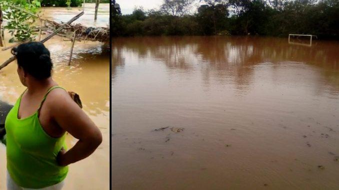 """[Video] """"Tengo todo inundado y no tengo para donde irme"""", damnificada por inundación en Caucasia, Antioquia"""
