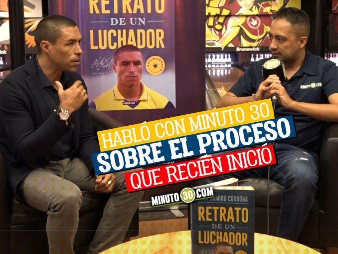Ivan Ramiro Cordoba pide reconciliacion entre James y Reinaldo Rueda