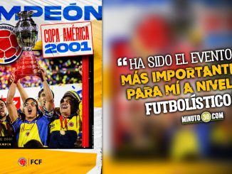 Ivan Ramiro Cordoba rememoro con Minuto 30 vigesimo aniversario de titulo de Colombia en Copa America