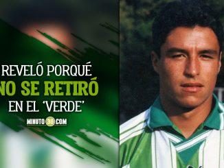 Ivan Ramiro conto que jugo en Nacional debido a que en el DIM lo rechazaron