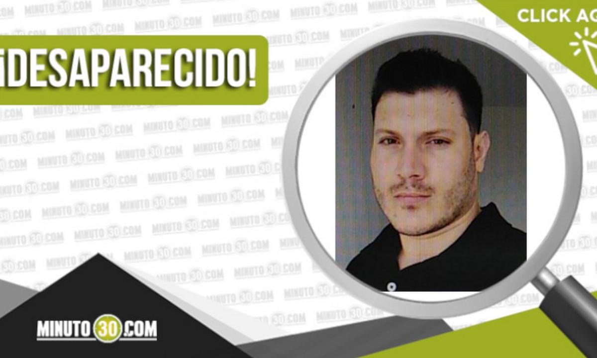 Jhon Darío Castaño Ocampo salió a hacer una carrera y no volvió a su casa