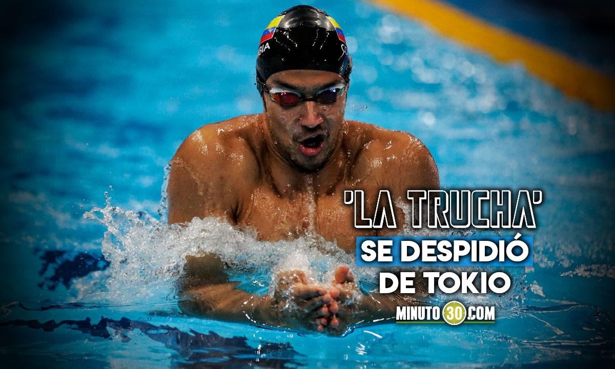 Jorge Murillo cerro su actuacion en Juegos Olimpicos