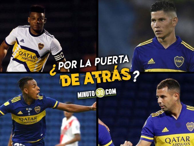 Jugadores colombianos saldrian todos de Boca Juniors