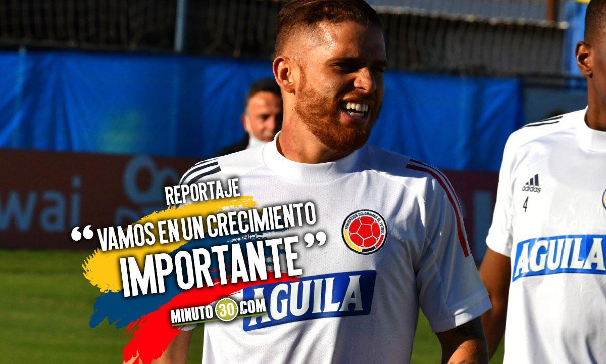 Jugadores de Colombia reconocen la categoria del rival pero tambien la propia