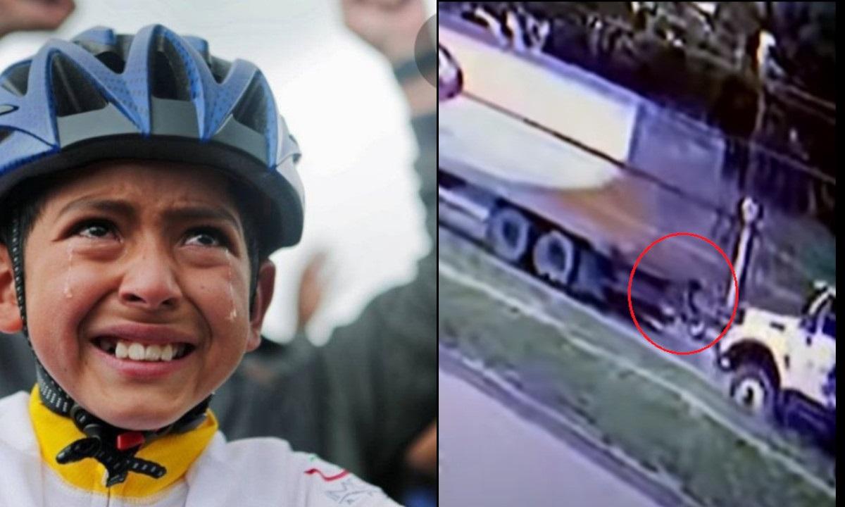Difunden video en el que se ve a Julián, segundos antes del accidente