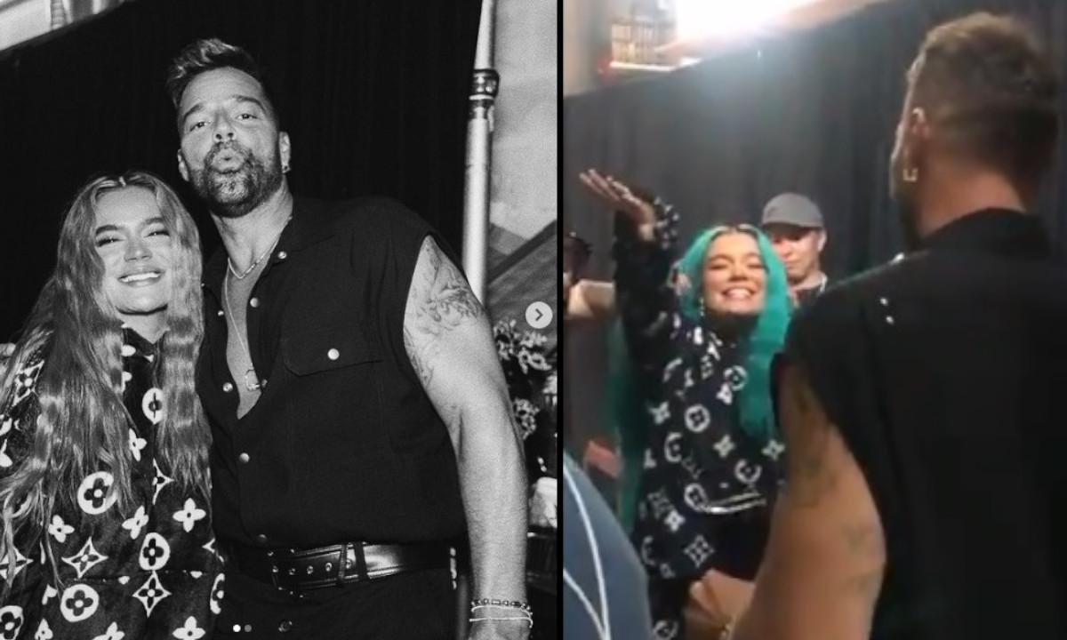 """Estoy muy nerviosa"": Karol G al conocer a Ricky Martin"