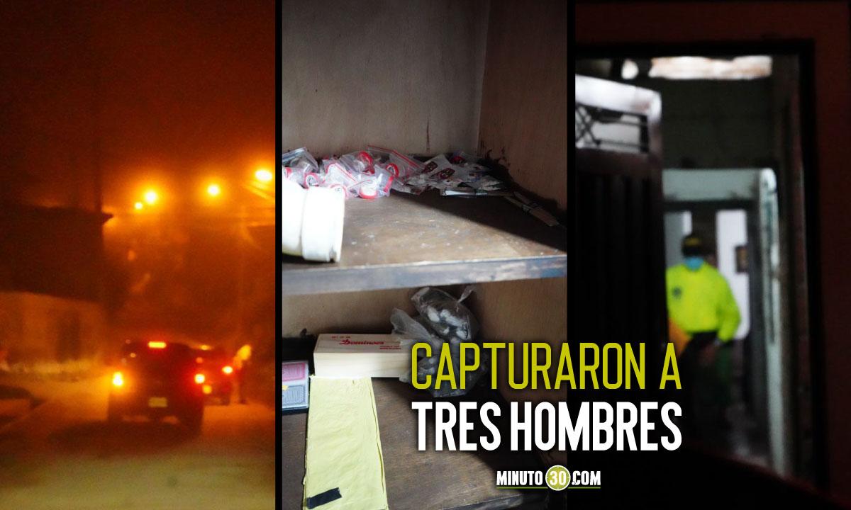 [Video] Les llegaron a la casa y les pillaron 'baretos', cocaína y hasta bazuco