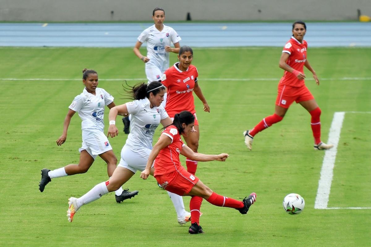Liga Femenina Medellin vs America 1 Copiar