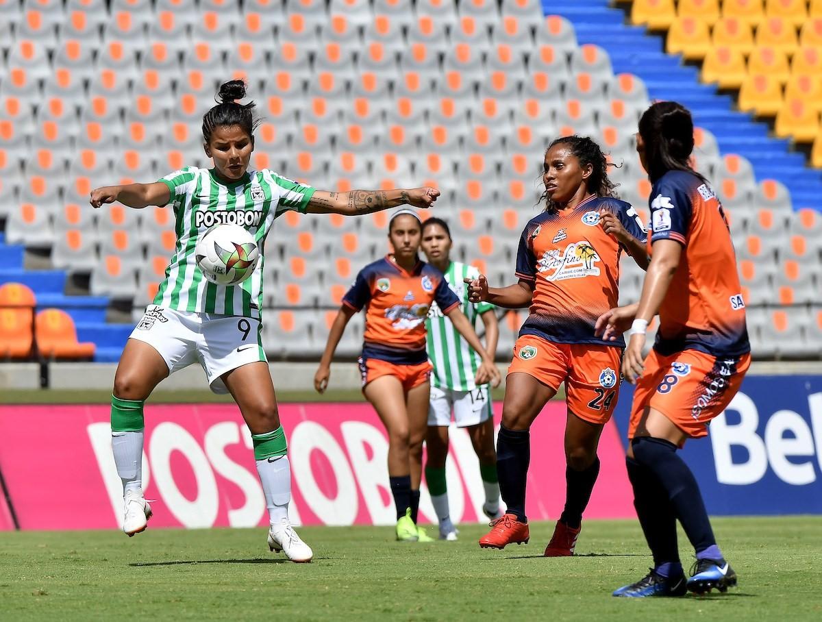 Liga Femenina Nacional vs Real Santander 1 Copiar