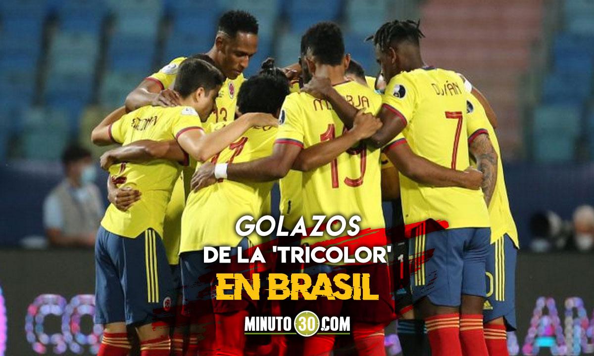 Los goles de Colombia en la Copa America 2021