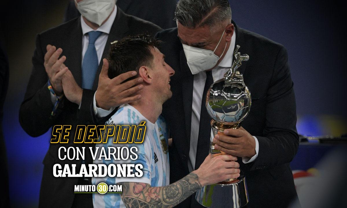 Los goles de Lionel Messi en la Copa America 2021
